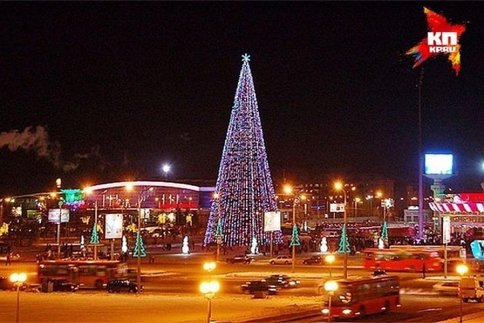 Главная новогодняя елка Казани откроется 29декабря