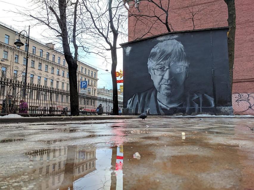 Администрация потребовала закрасить портрет Шевчука из-за жалоб местного жителя