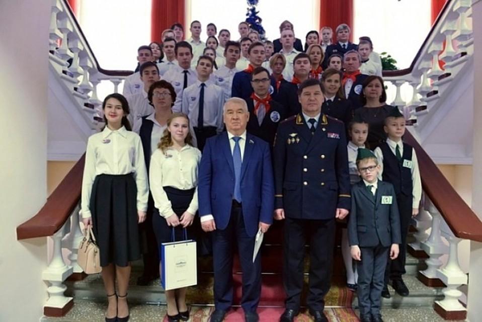 ВТюменской области назвали лучший отряд молодых друзей милиции