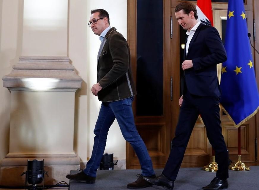 ВАвстрии партия Курца иультраправые сформируют коалиционное руководство