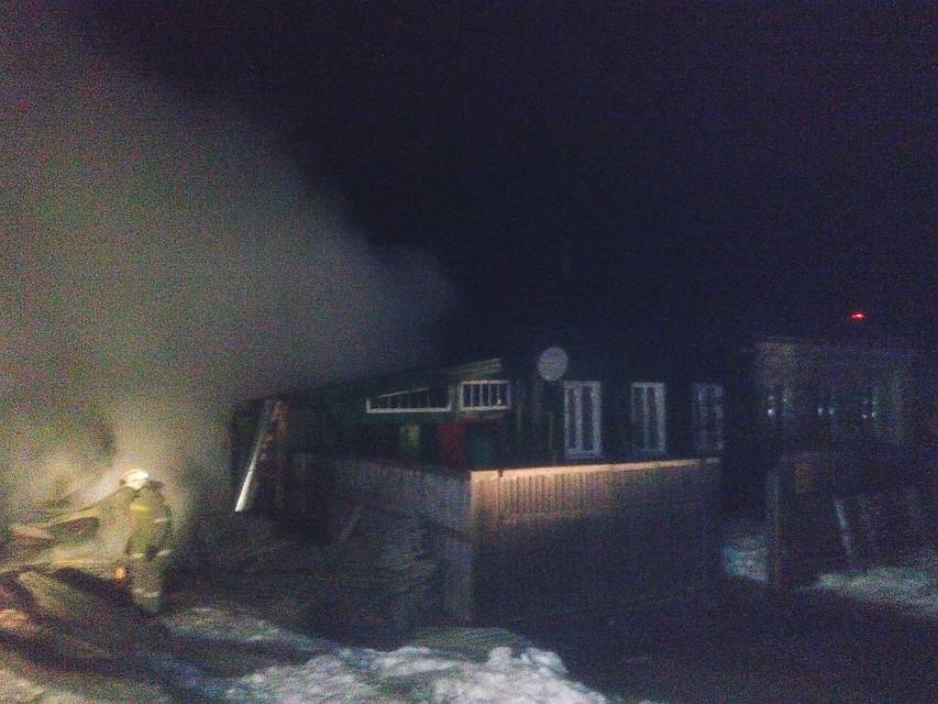 При пожаре вУльяновской области погибли мать исын