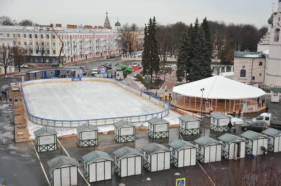 Новогодняя ярмарка вЯрославле начнёт работу 21декабря