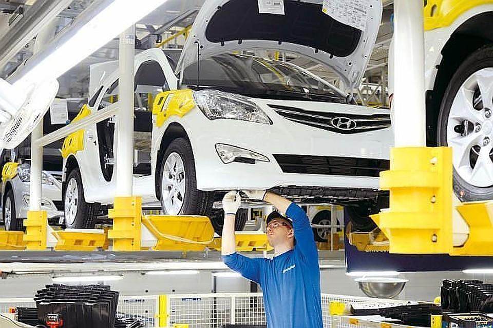 Загод петербургские автозаводы выпустили больше 315 тыс. легковых авто