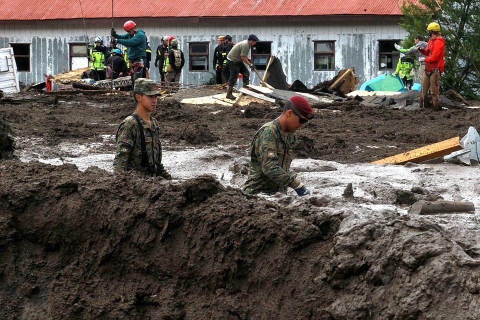 Из-за схода селевого потока вЧили погибло 15 человек