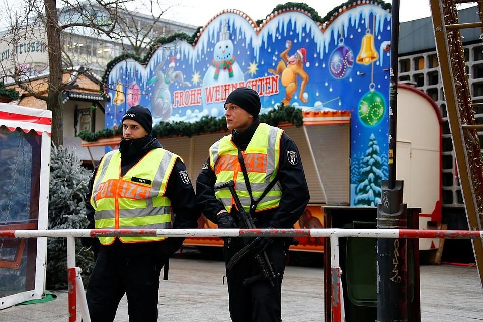 ВоФранкфурте из-за подозрительного пакета эвакуировали рождественскую ярмарку