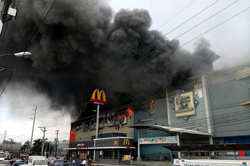 Без вести пропало около 40 человек— Пожар наФилиппинах