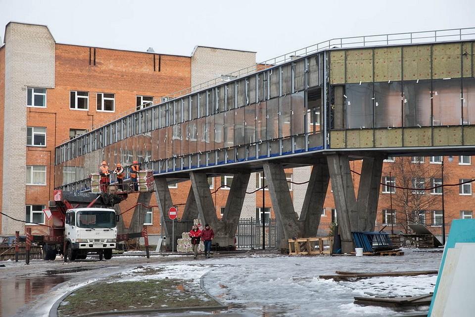 Строительство перинатального центра вПскове закончится всередине зимы следующего года