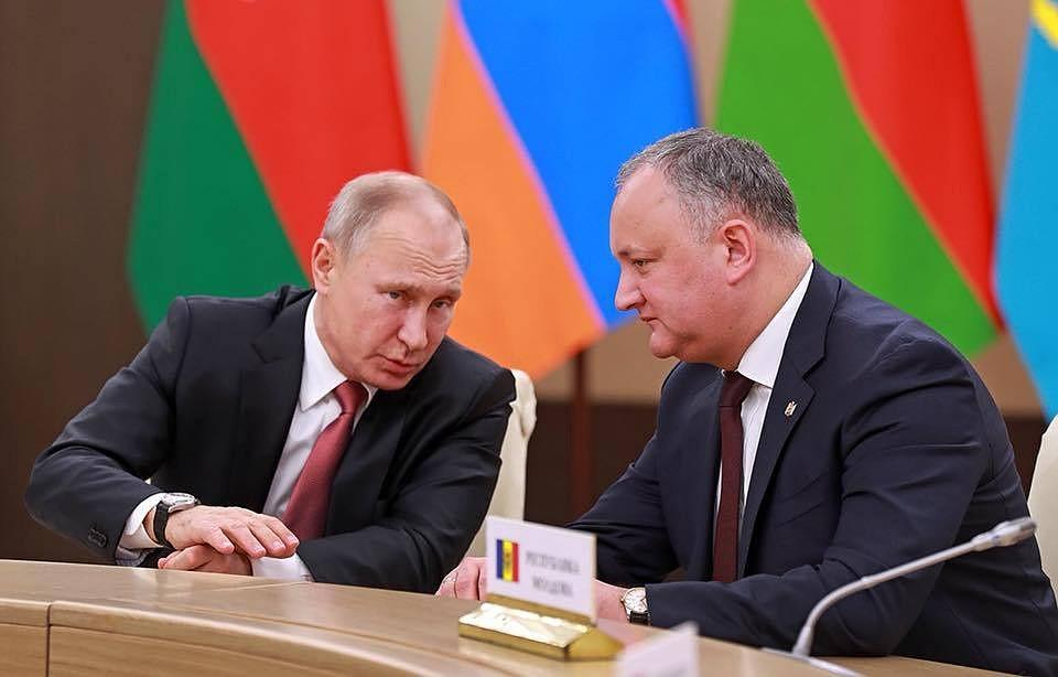 Додон поведал о последующих отношениях сРоссией