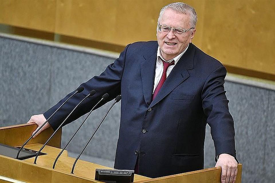 Документы для регистрации Жириновского кандидатом впрезиденты поступили вЦИК