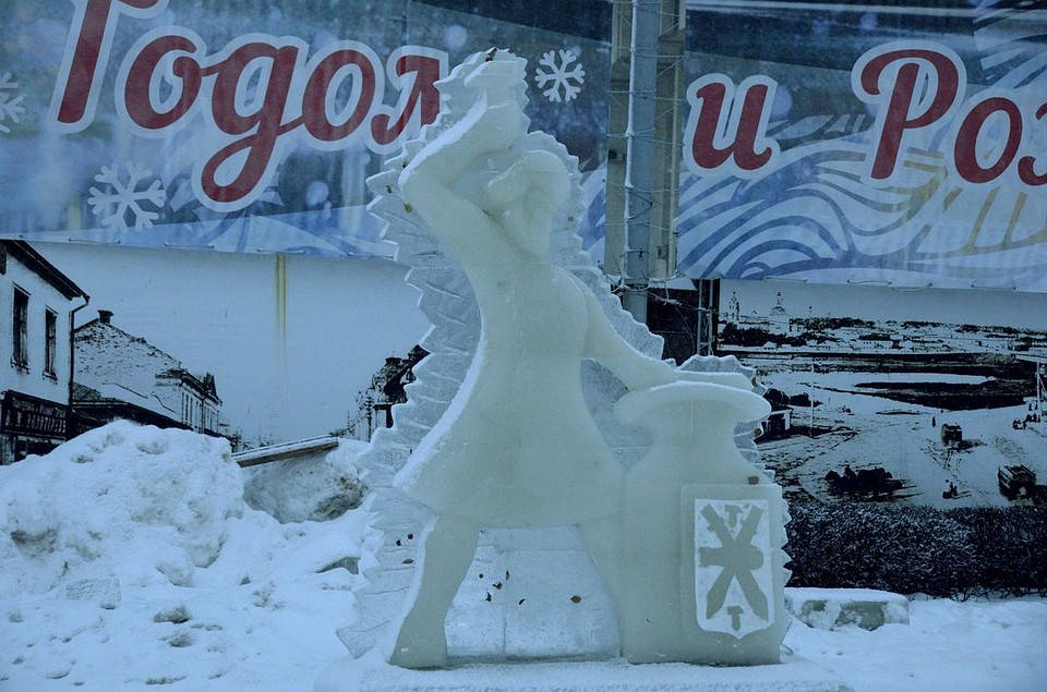 Вобластной столице 31декабря наплощади будут установлены ледяные скульптуры
