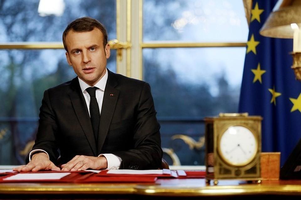Макрон назвал 2018 год «решающим» для будущего Европы