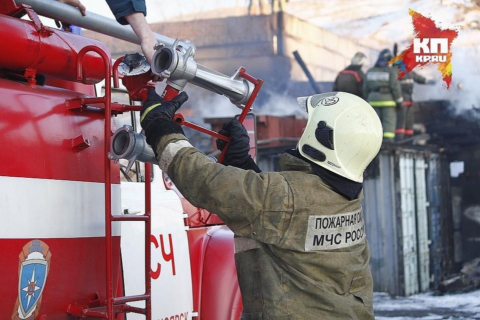 ВКрасноярске задержанный попытался поджечь отделение милиции