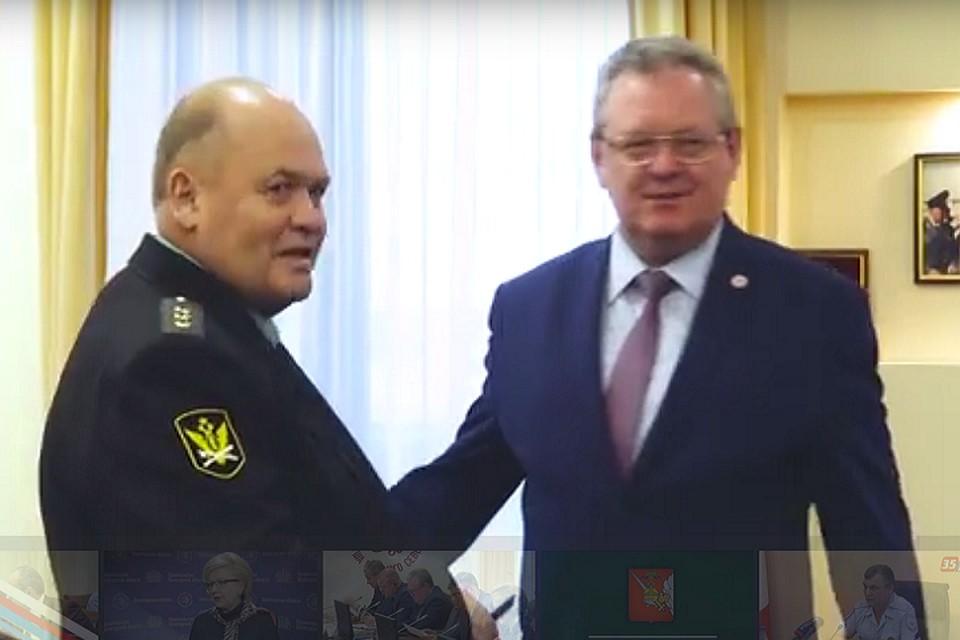 ВВологодской области назначен новый главный судебный пристав