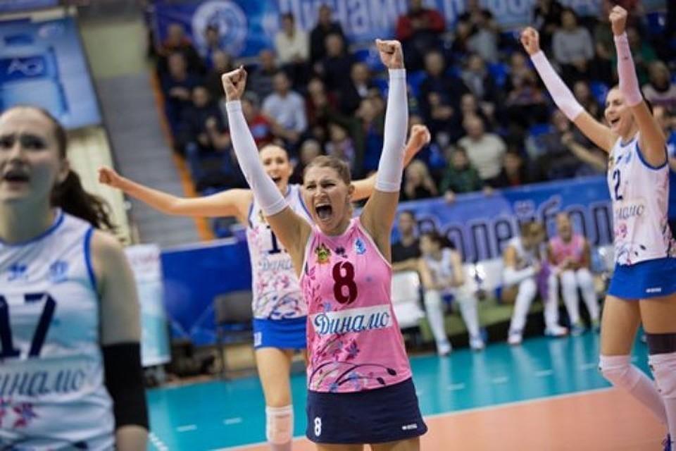 Волейболистки «Динамо-Краснодар» одержали победу над австрийским «Грацем»