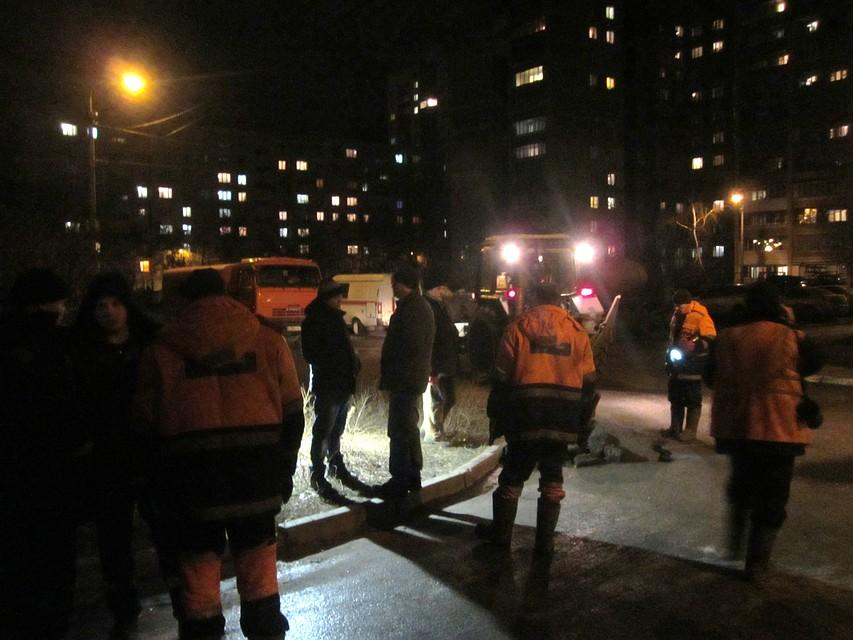 ВВоронеже устранена  первая вновом году авария всистеме ЖКХ