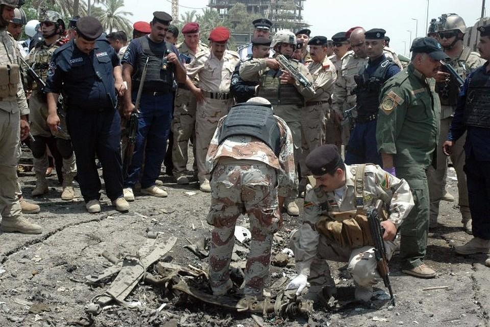 Около 100 человек пострадали при двойном теракте вБагдаде— Ирак