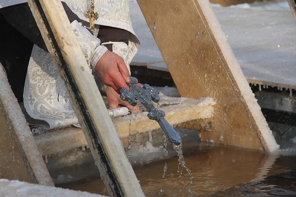 Искупаться впроруби наКрещение смогут вологжане только вПрилуках