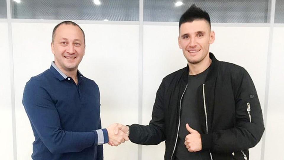 Тарас Бурлак стал игроком «Крыльев Советов»