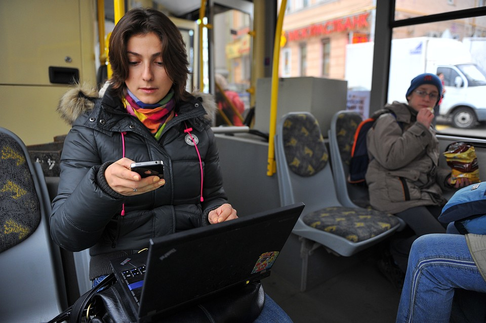 Петербургские трамваи итроллейбусы останутся без Wi-Fi