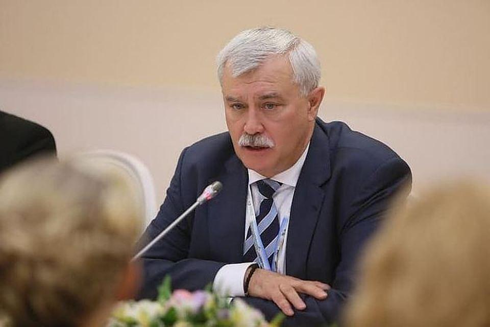 Полтавченко ждет 8 млн туристов вПетербурге вгодЧМ
