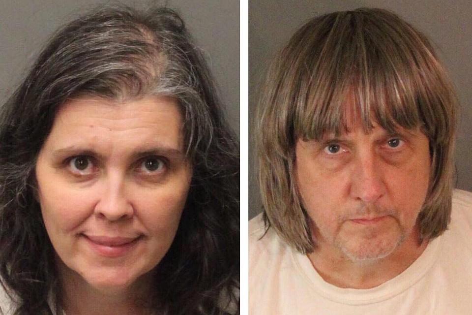 Супруги изКалифорнии, державшие детей нацепи, отказались признавать свою вину