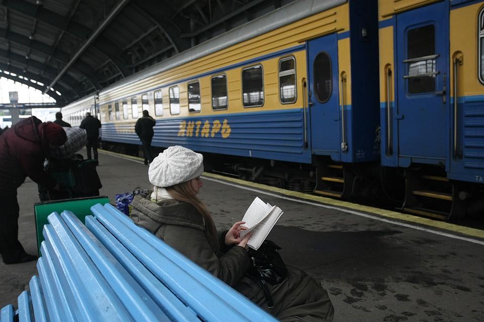 Вфирменном поезде «Янтарь» возникла детская библиотека
