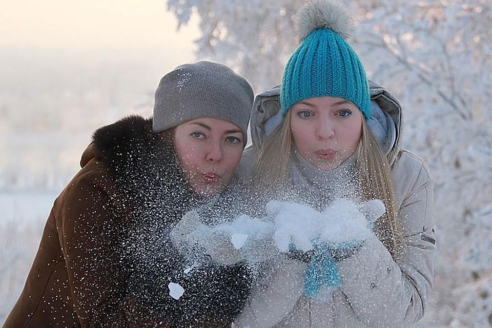 Морозы до12 градусов с маленьким снегом ожидают Подмосковье вовторник
