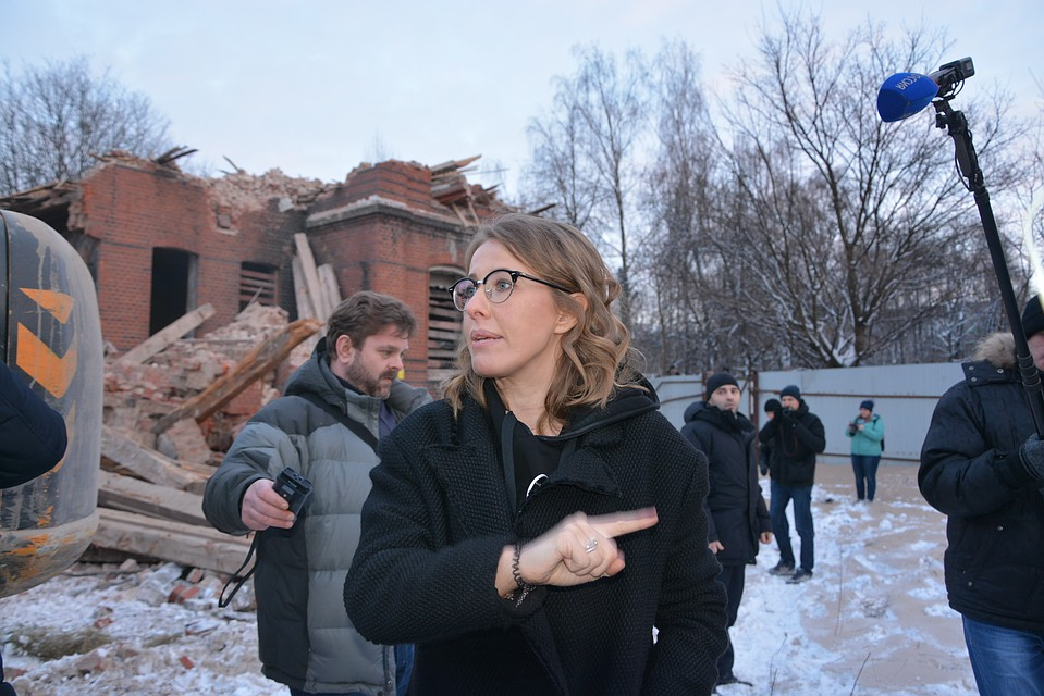 Ксения Собчак собралась зимой посетить США