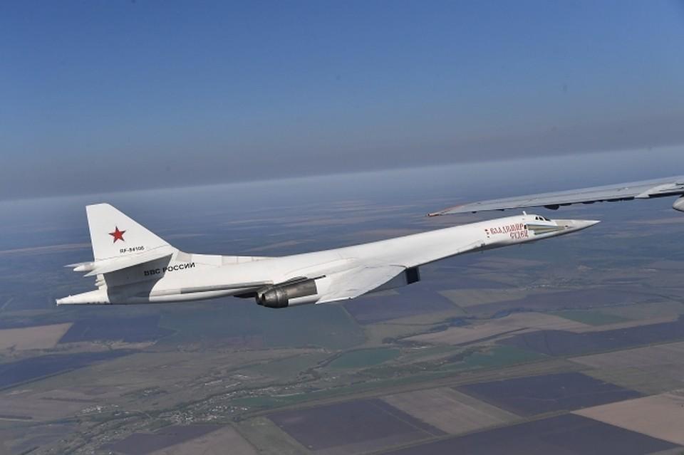 Новый ракетоносец Ту-160 начал летные тестирования напрошедшей неделе