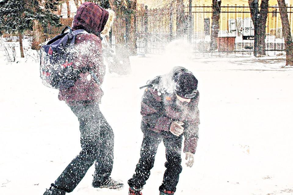 Зима возвратится вПетербург ввоскресенье