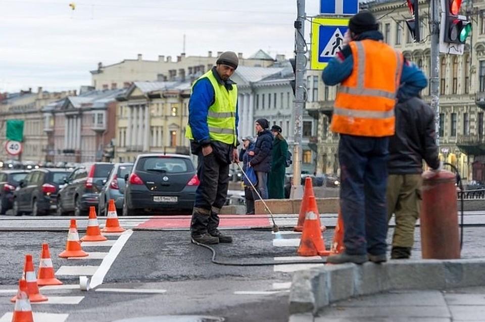 ВПетербурге открывают для проезда участок проспекта Наставников