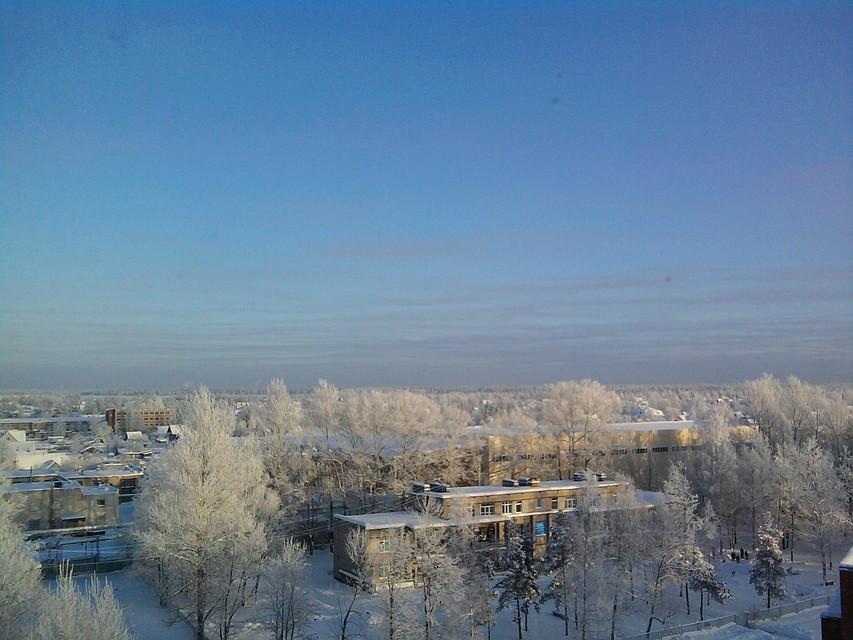 Уровень воды вНеве превысил страшную отметку врайоне Отрадного Ленинградской области