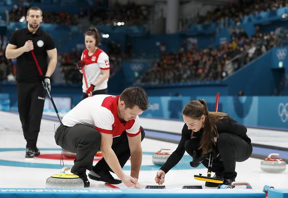 Канада разгромила Швейцарию ивзяла золото вдабл-миксте