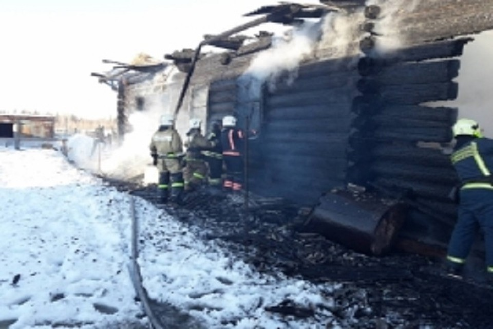 Пожар вМарий Эл забрал жизни 2-х детей