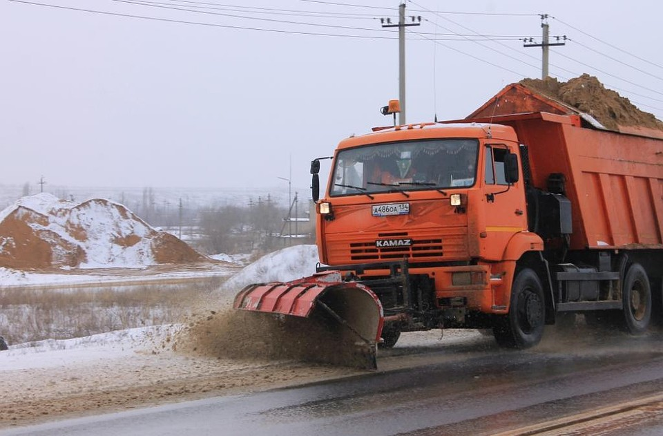 Натрассах Волгоградской области 18марта прогнозируют снег игололед