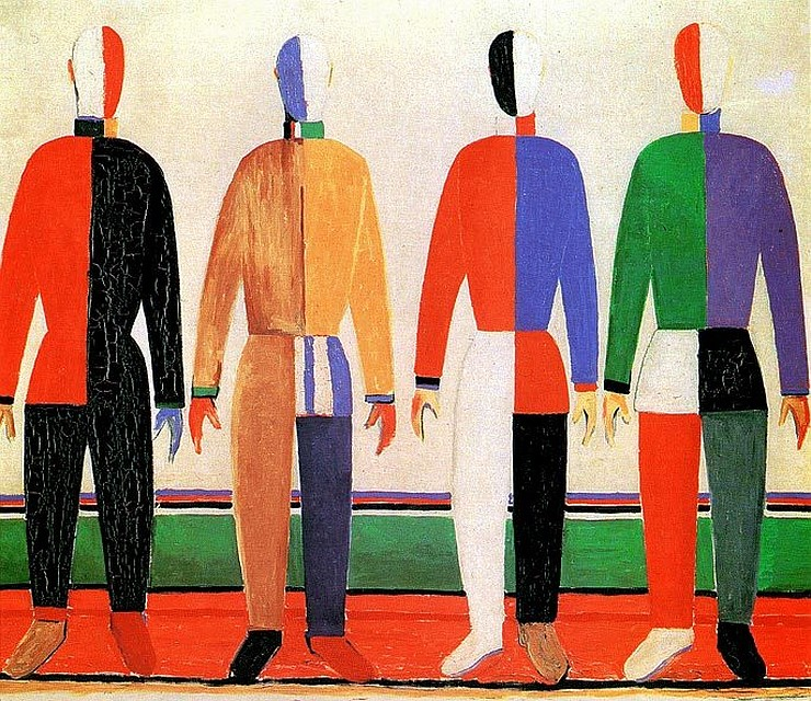 Российский музей получил в презент 160 рисунков Малевича