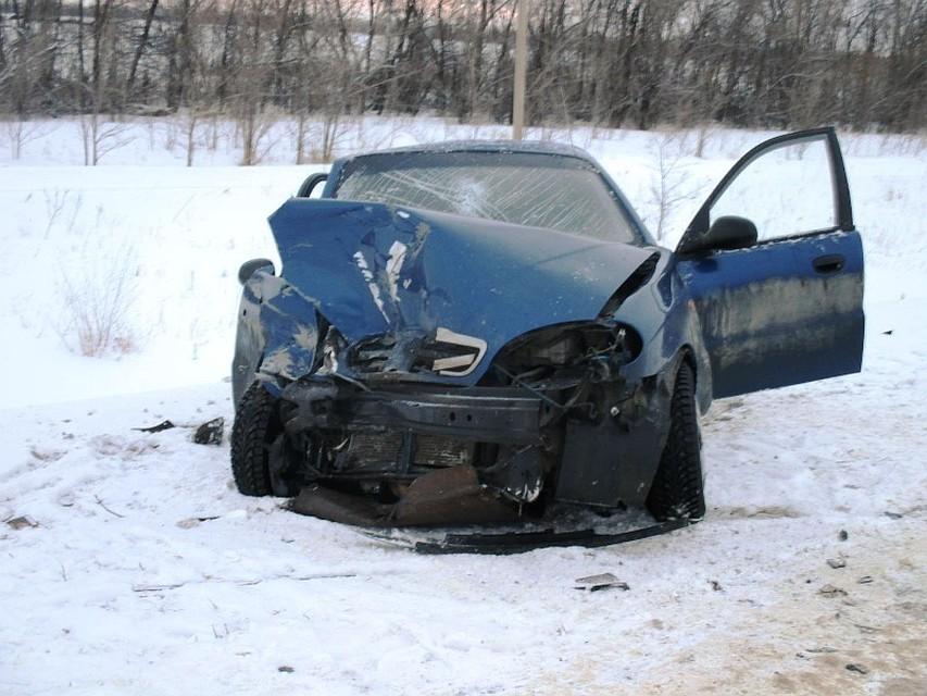 ВСамарской области нетрезвый шофёр на«Шевроле» протаранил «Приору»