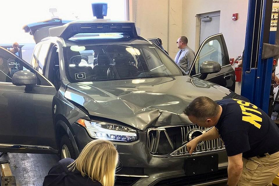 Видео смертоносного  ДТП сбеспилотником Uber выложили вСеть