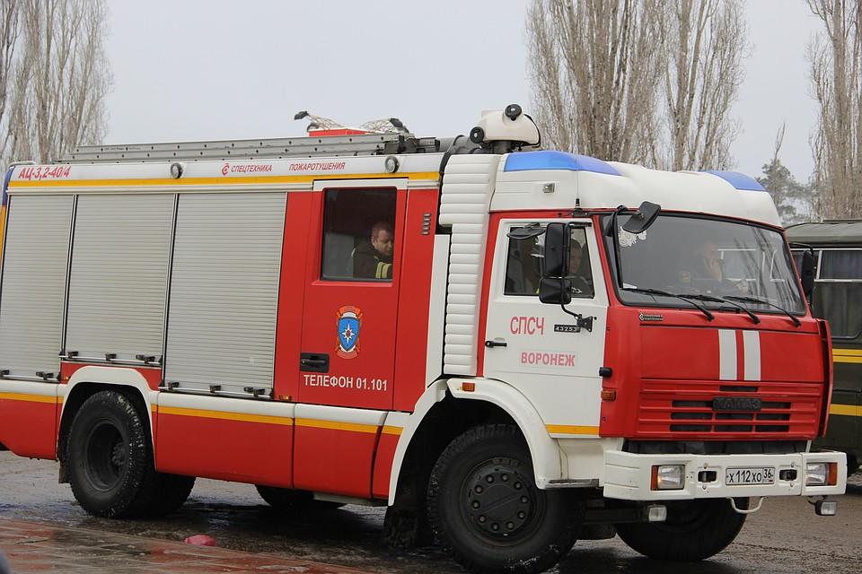 Сильный пожар вВоронеже: cотрудники экстренных служб эвакуировали 65 человек