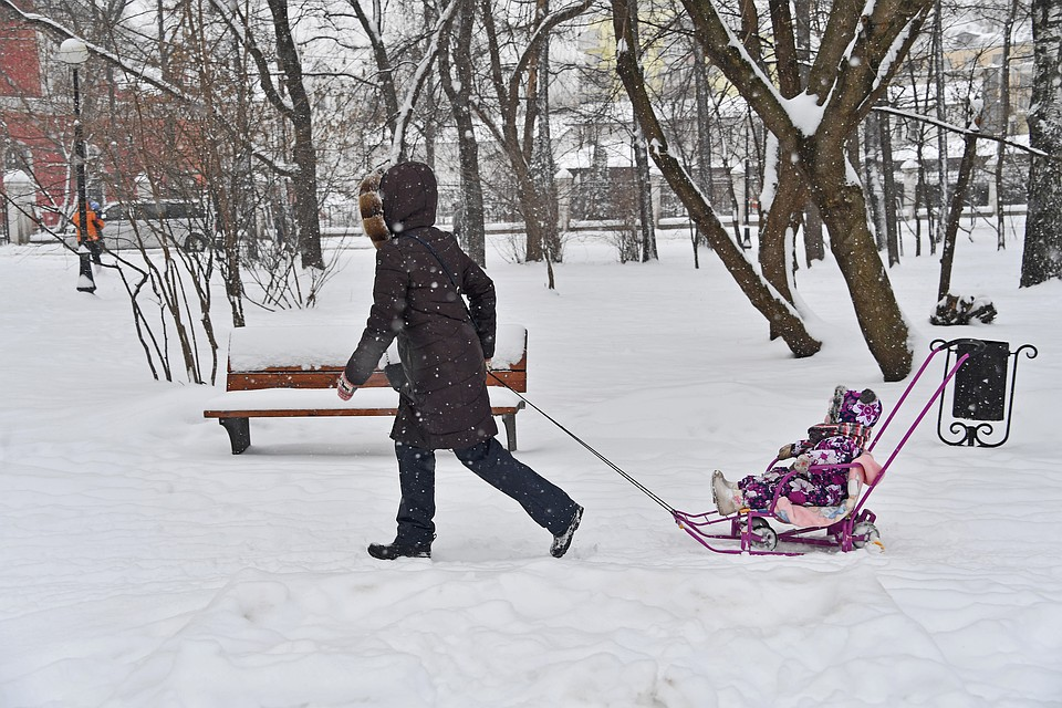 В российской столице на26марта объявили «желтый» уровень опасности из-за ветра
