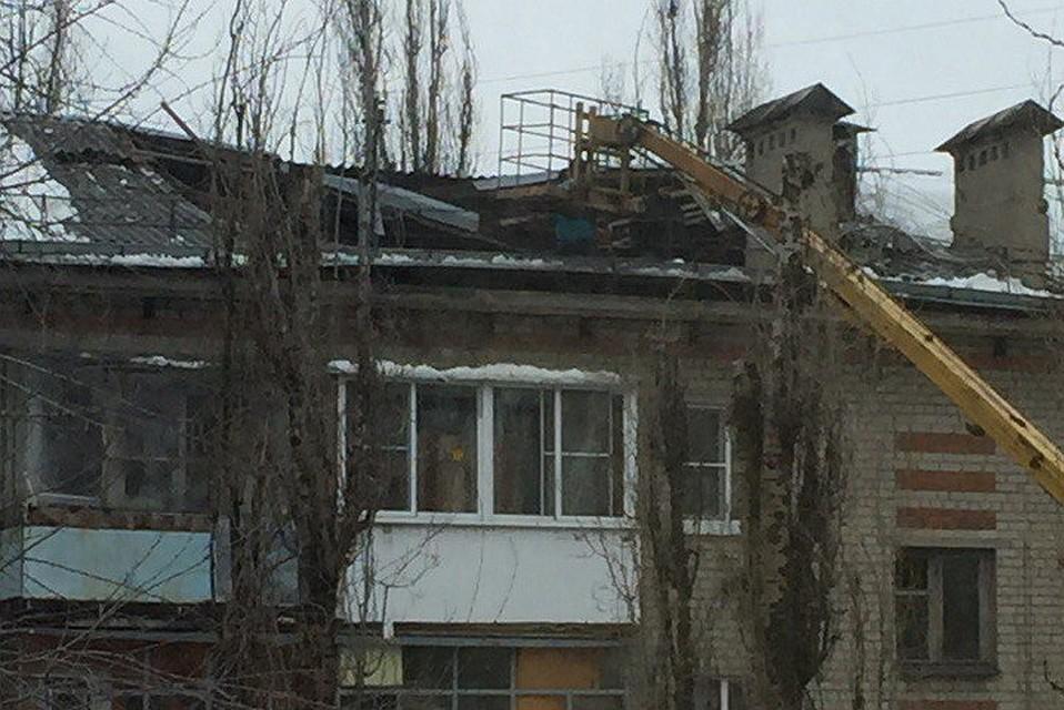 ВВоронеже рухнула крыша пятиэтажки, недотянув 4 года докапремонта