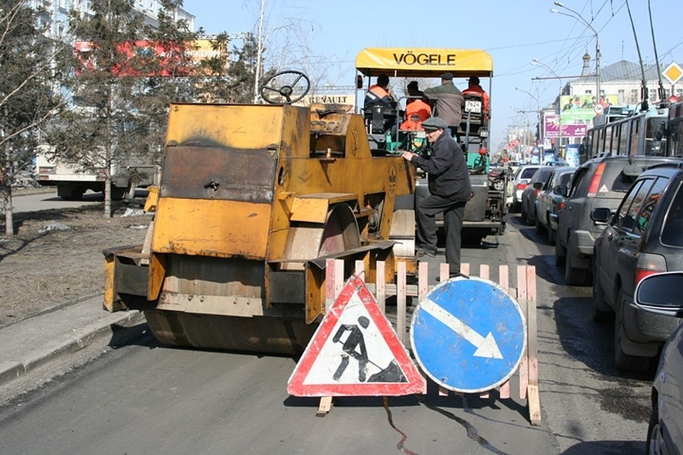 Работы поремонту дорог стартовали вБарнауле