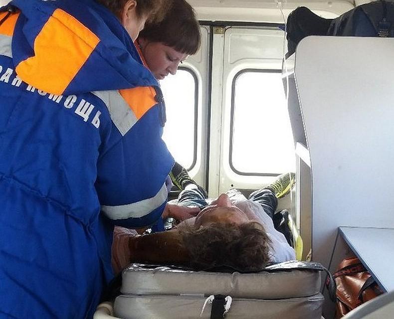 ВКунгуре спасли подростка, висевшего наэлектрических проводах