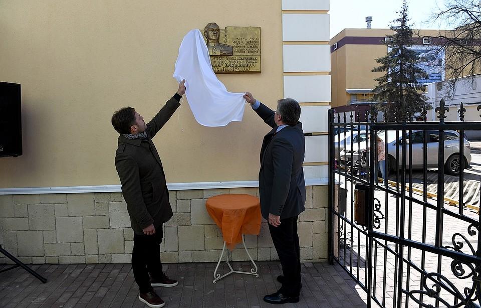 Мемориальную доску впамять обавторе гимна Российской Федерации установили вТвери