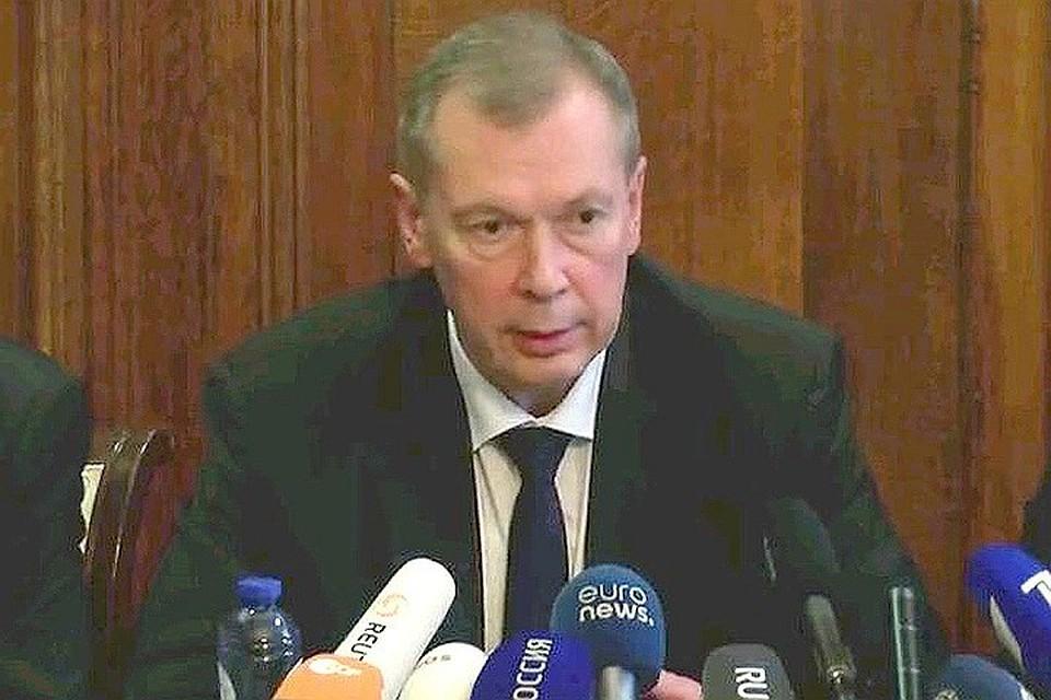 Шульгин: РФ готова предъявить Англии триаду обвинений поделу Скрипаля