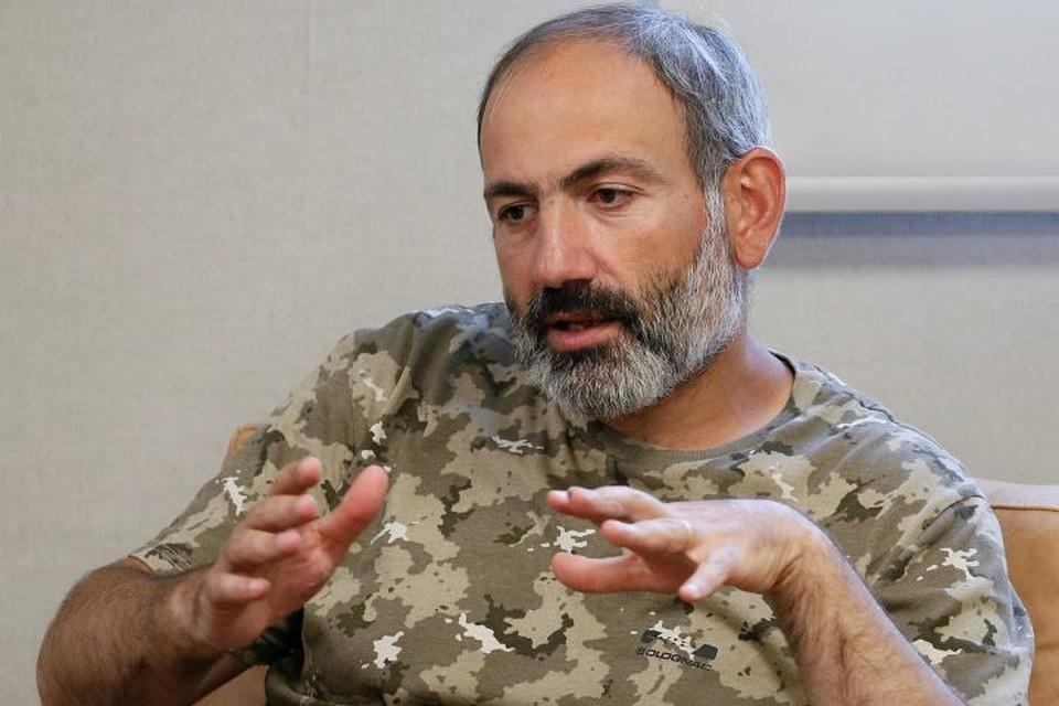 Лидер армянской оппозиции Никол Пашинян
