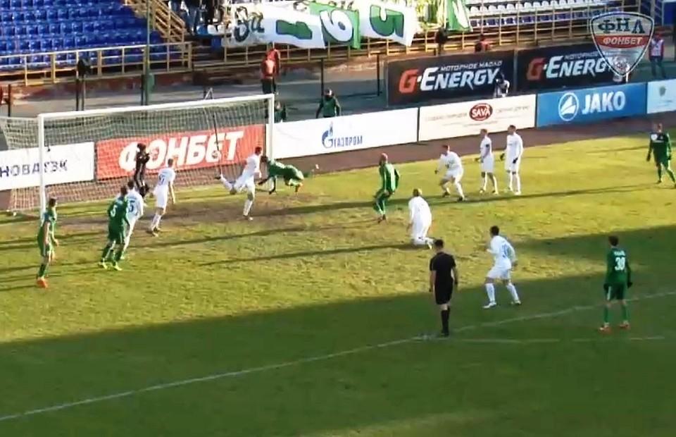 «Томь» обыграла «Ротор-Волгоград» ипокинула зону вылета