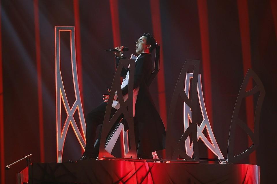 Российское жюри оценило украинского певца Melovin в6 баллов из12