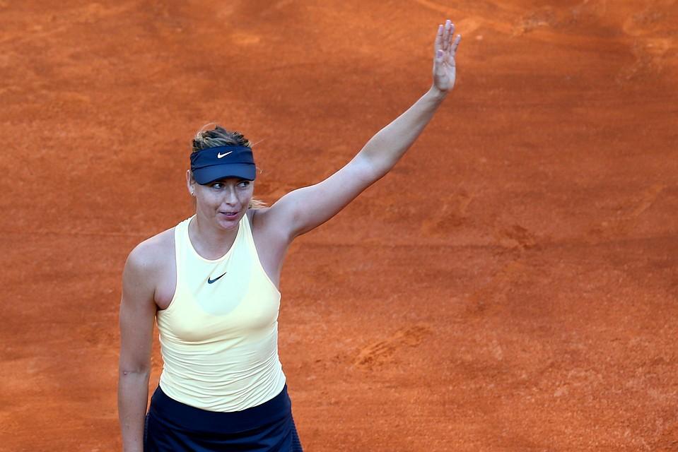 Шарапова считает, что ее спортивная карьера находится встадии окончания
