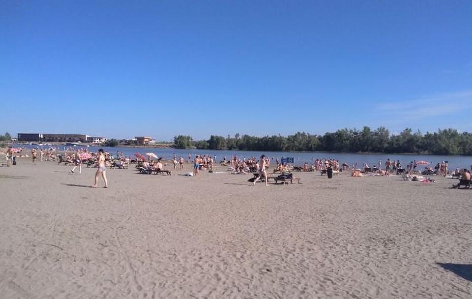 Берег наострове Помазкин вБарнауле открыли празднованием дня Ивана Купалы